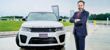 Raúl Peñafiel, director general de Jaguar Land Rover México. Foto: Cortesía
