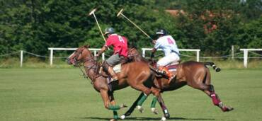 El polo tiene similitudes con el balompié pero no es solo futbol a caballo.. Foto: Getty Images