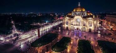 Bellas Artes en la Ciudad de México. Foto: Getty Images
