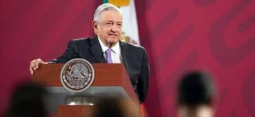 Andres Manuel López Obrador reacciona sobre la caída del PIB. Foto: Cortesía Presidencia de México