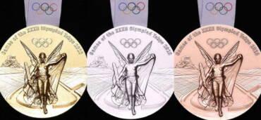 Medallas de los Juegos Olímpicos de Tokyo 2020-2021. Foto: Europa Press
