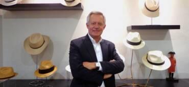 Ingeniero Luc Charles Dominique Tardan Perrin, dueño de Sombreros Tardan. Foto: Cortesía