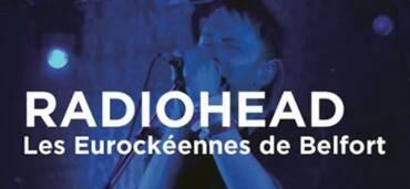 Radio Head concierto Eurockeennes de Belfot. Foto: Especial