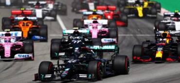 Gran Premio de Bélgica. Foto: Cortesía Twittter F1