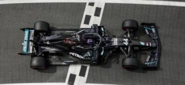 Hamilton se lleva la pole en Gran Bretaña. Foto: FIA Twitter