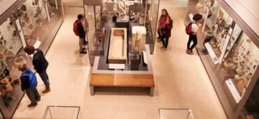 Galería de museo. Foto: Getty Images