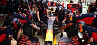 Red Bull Racing, listos para el Gran Premio de España. Foto: F1