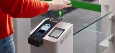 Amazon One, servicio para pagar con la palma de tu mano. Foto: Europa Press