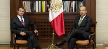 La UIF investiga a los expresidentes Felipe Calderón y Enirque Peña Nieto. Foto: Europa Press