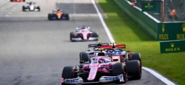 Gran Premio de Rusia 2020. Foto: Twitter Lance Stroll