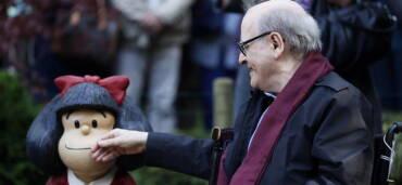 Quino falleció a los 88 años de edad. Foto: Europa Press
