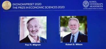 Ganadores del Nobel de Economía 2020. Foto: Captura
