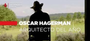Oscar Hangerman, arquitecto del año, Premio Firenze Entremuros. Crédito: Ca