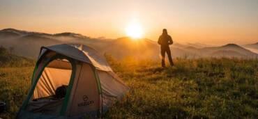 Los beneficios de acampar. Crédito: Pexels / Cliford Mervil