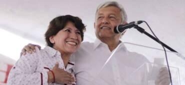 Delfina Gómez Álvarez fue nombrada la nueva secretaria de Educación Pública. Crédito Twitter