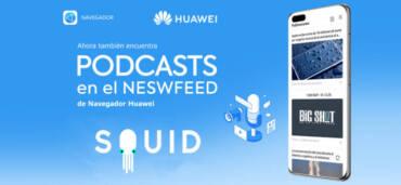 Navegador de Huawei y Squid. Crédito: Cortesía