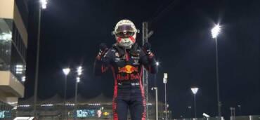 Max Verstappen ganó el Gran Premio de Abu Dabi en Fórmula 1. Crédito: Twitter @F1