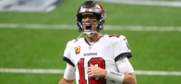 Tom Brady, QB de los Bucaneros. Crédito: NFL/Logan Bowles