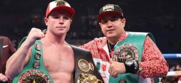 Canelo Álvarez, boxeador mexicano. Crédito Twitter @Canelo
