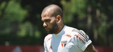 Dani Alves, futbolista brasileño. Crédito: Twitter @DaniAlvesD2