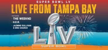 Super Bowl LV. Crédito Twitter @NFL