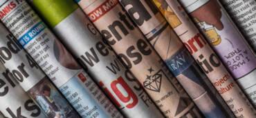 Periódicos. Foto: Pixabay