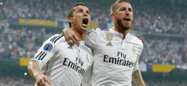 Cristiano Rolando y Sergio Ramos. Crédito Especial