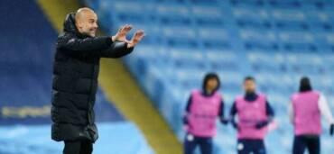 Pep Guardiola, director técnico. Crédito: Twitter Manchester City